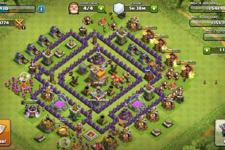 vila cv 7 full clash of clans 135011 mlb20449998823 102015 f