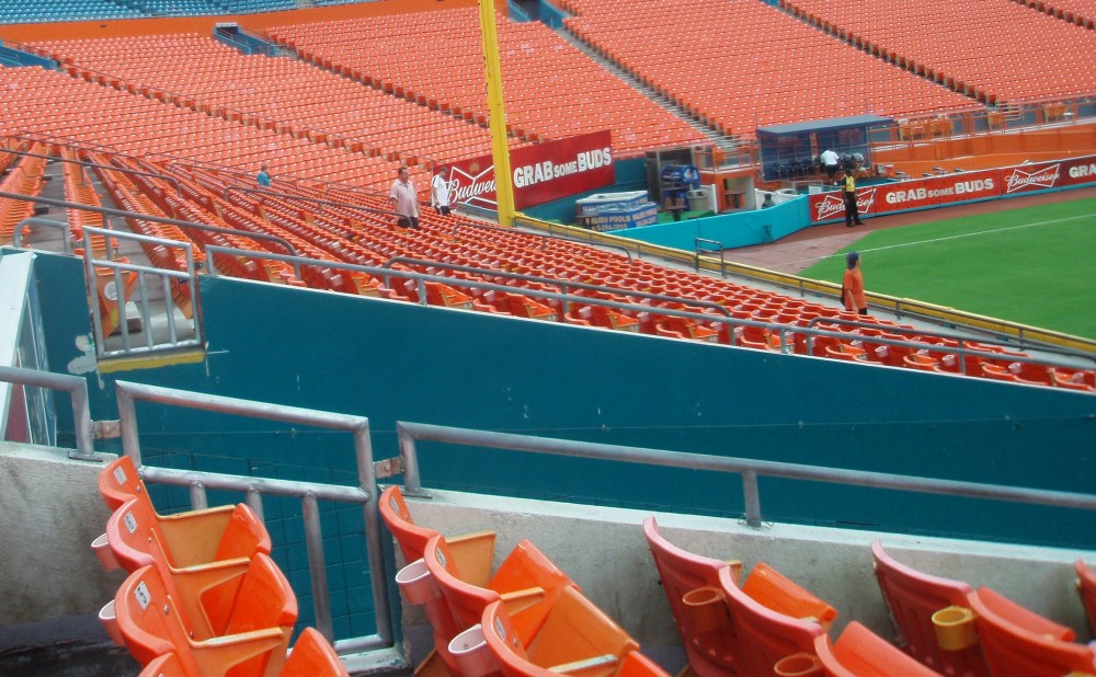 7/7/11 Astros at Marlins: Sun Life Stadium (3/6)