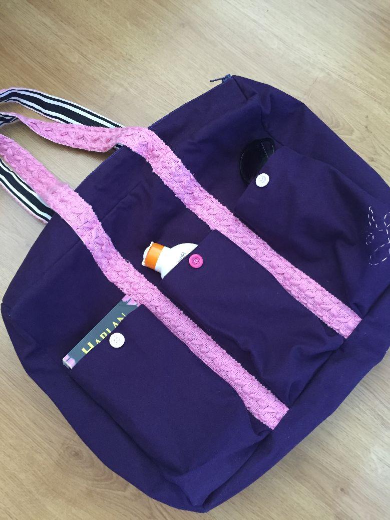 Un sac de plage...multi-poches!