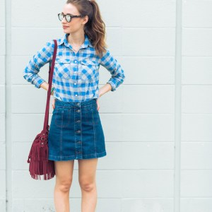 plaid_and_denim_skirt_fall_outfit_1