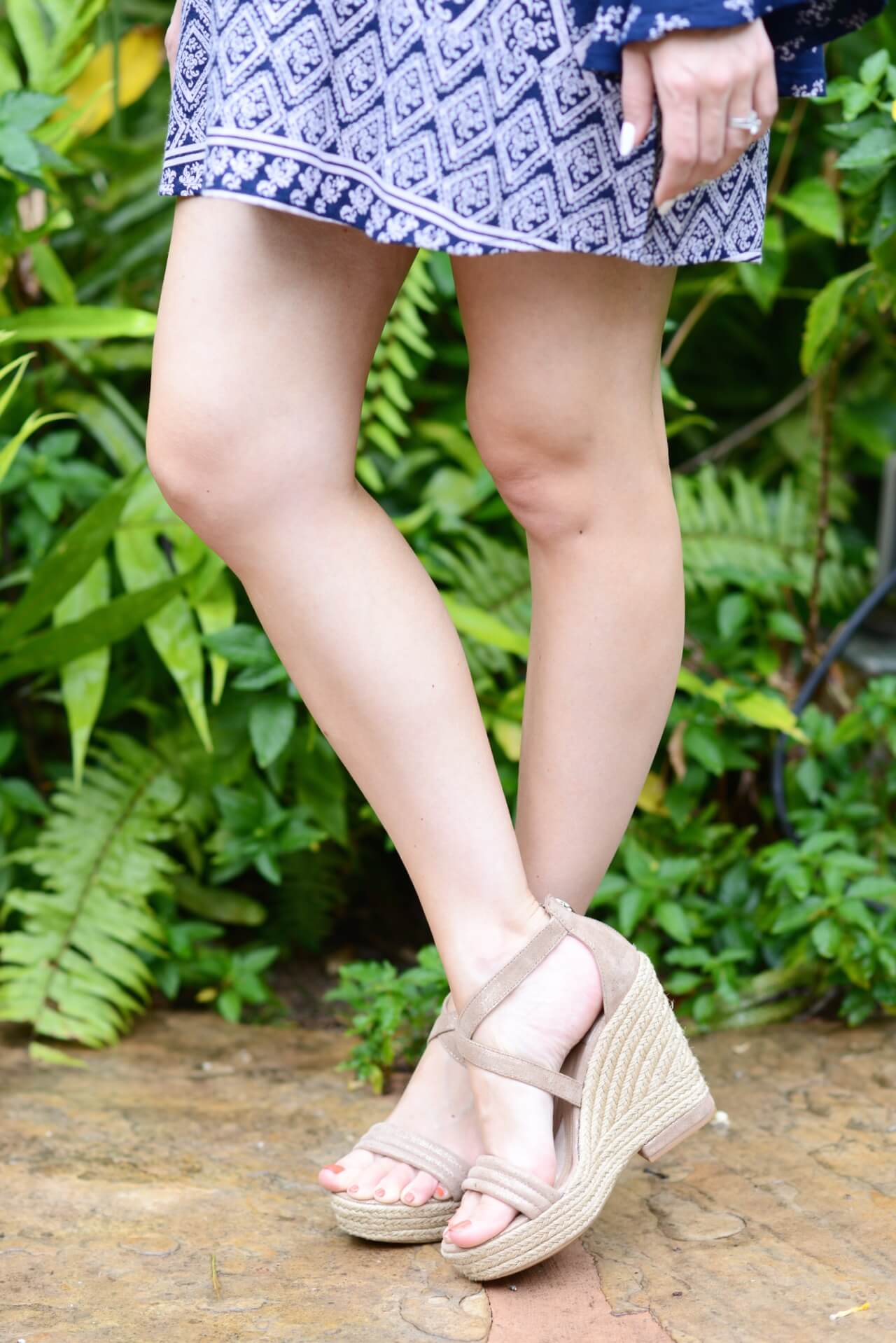 espadrille wedges are perfect for spring