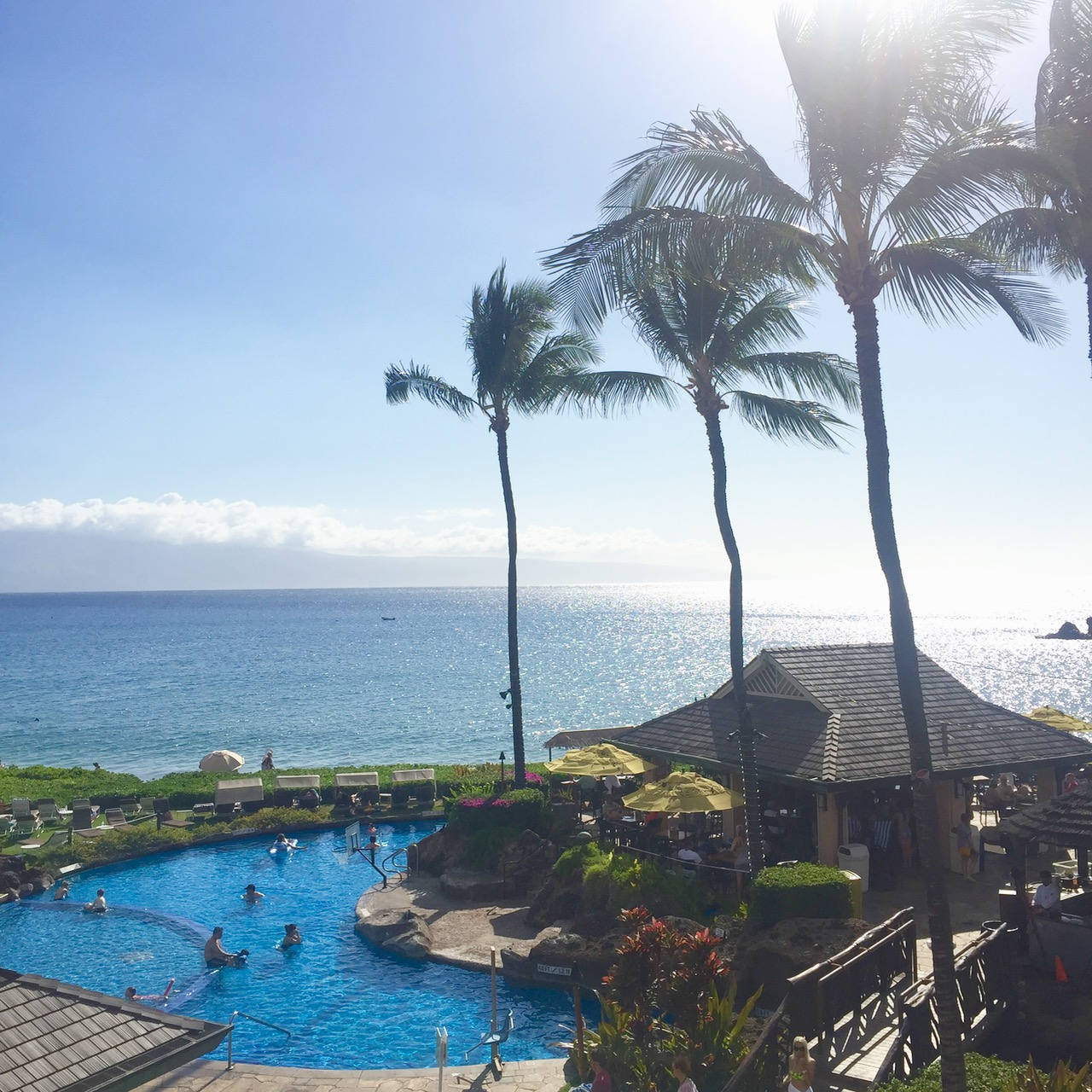 view from the Sheraton in Kaanapali Maui