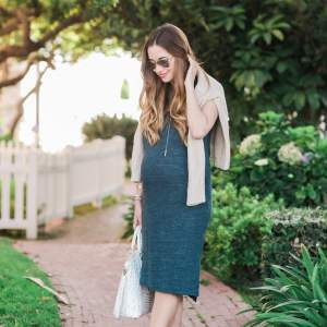 the comfiest jersey dress to wear during summer or fall
