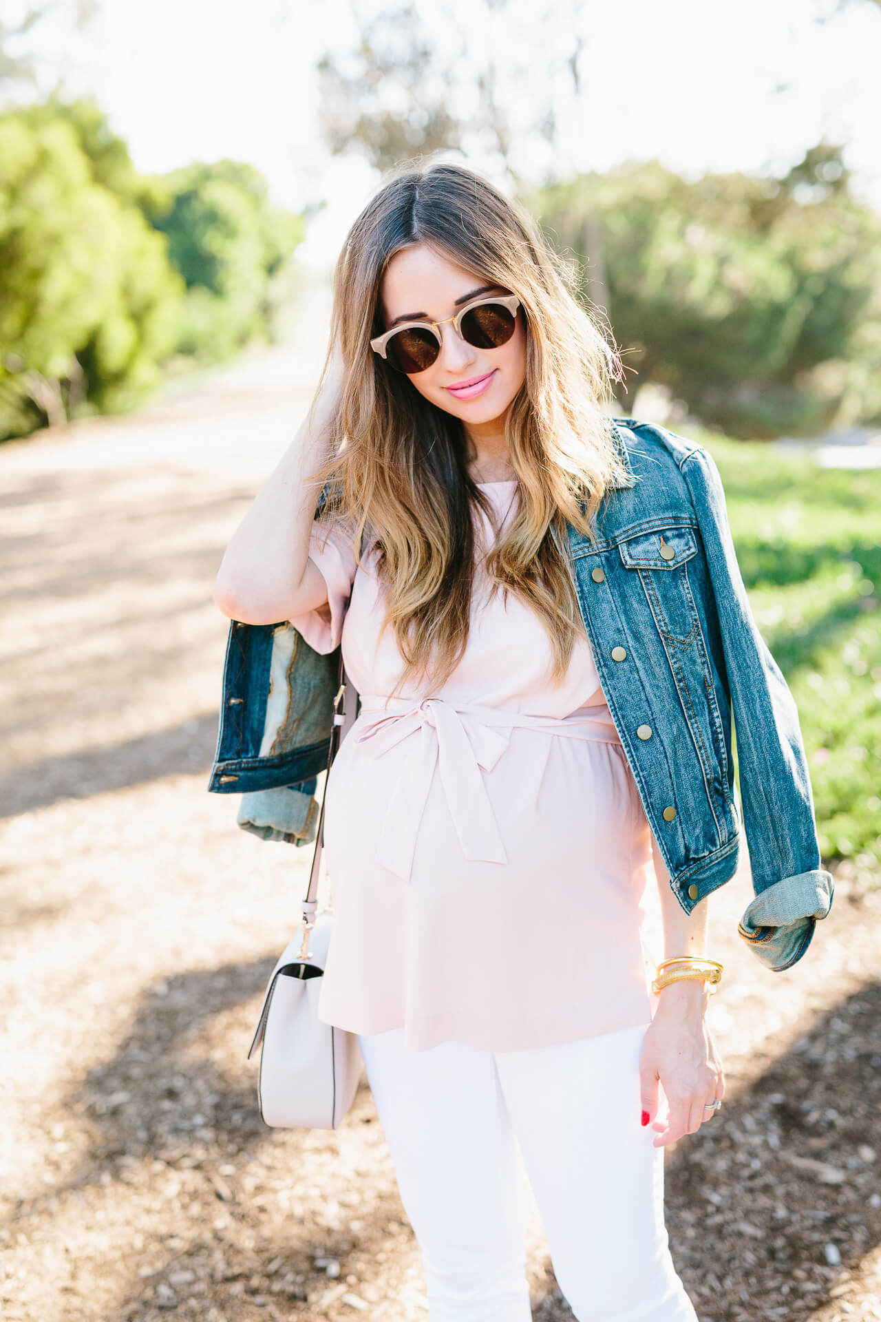 sole society sunglasses in harloe nude