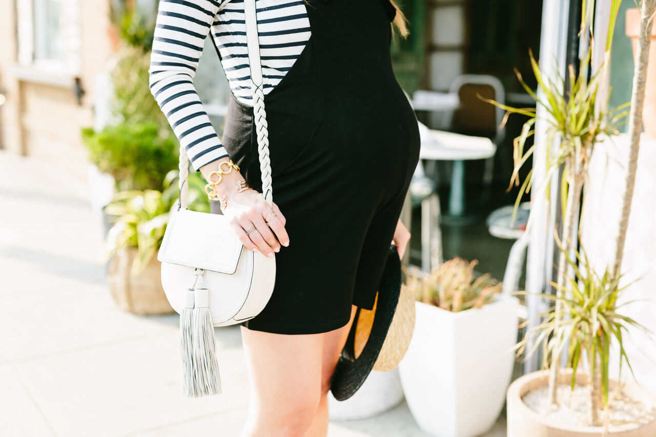 dressing the bump in overalls