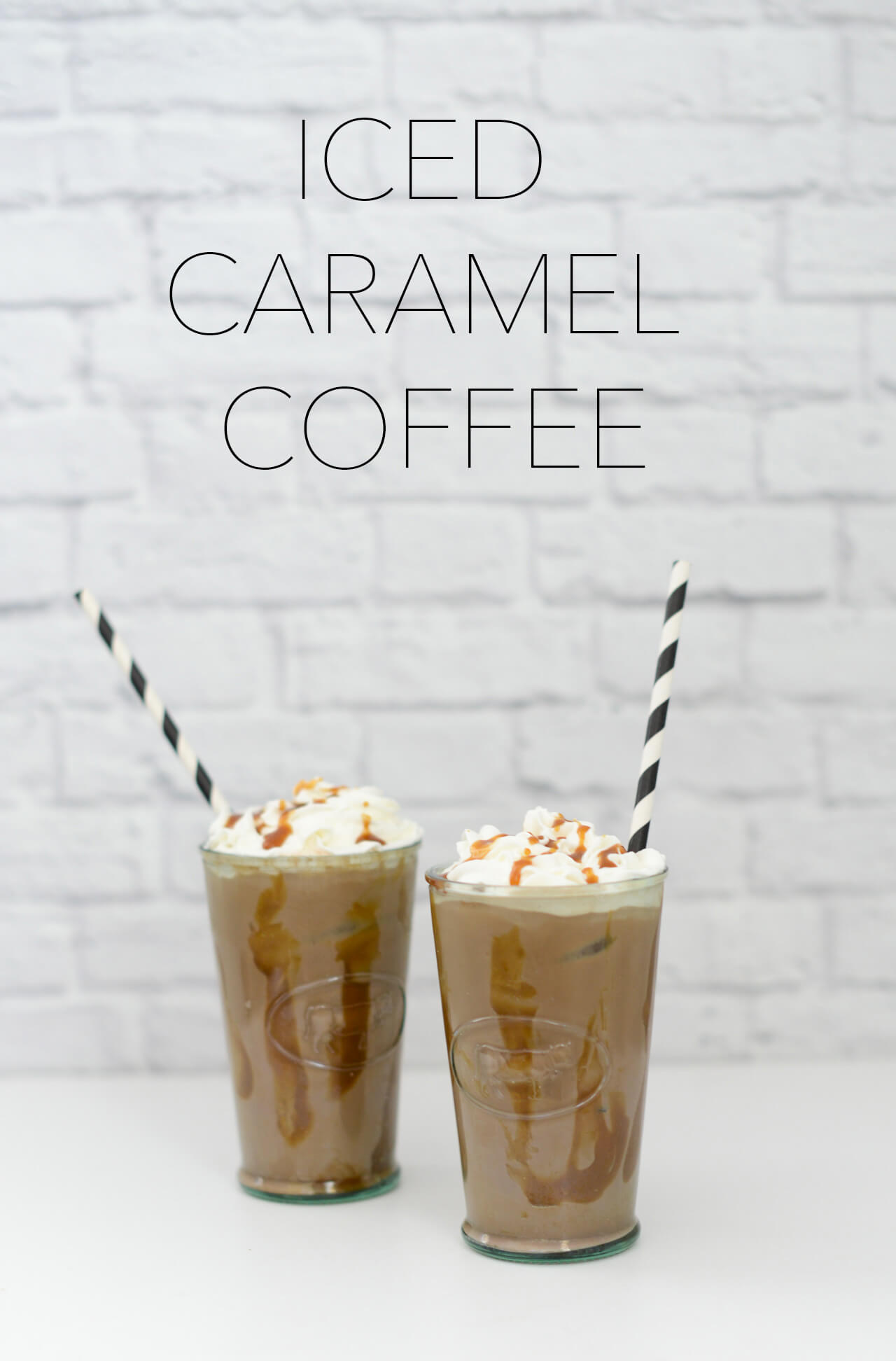 the secret ingredient to the best iced caramel coffee! Get the recipe on www.mlovesm.com