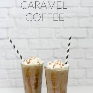 iced caramel coffee recipe post