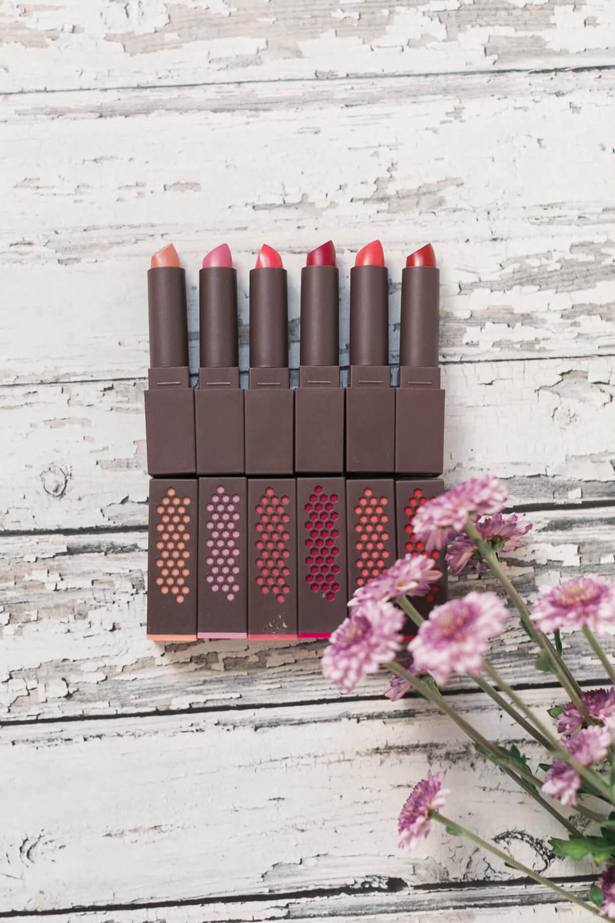 love these burt's bees lipsticks