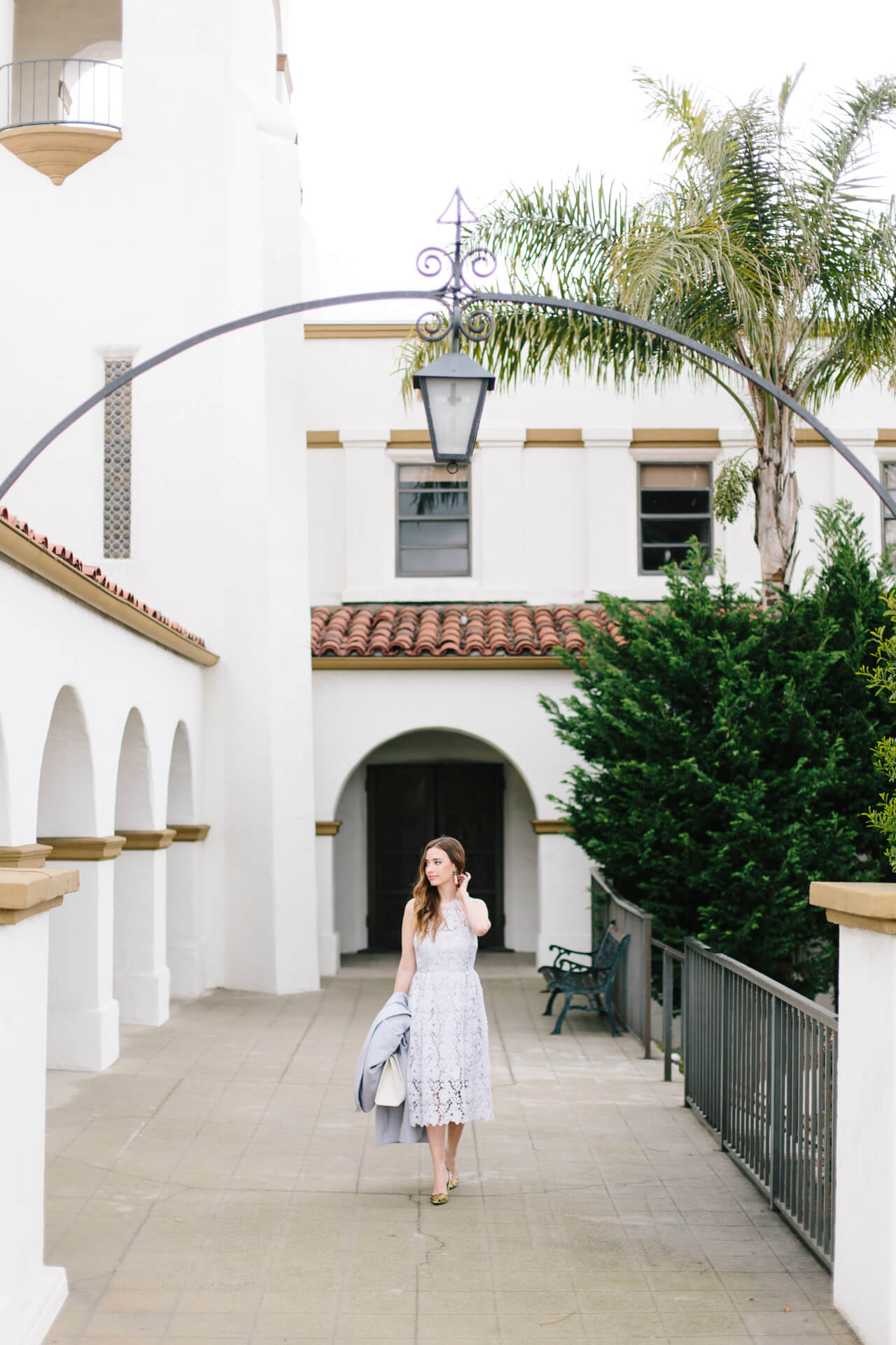 monochromatic with lavender- early spring outfit inspiration from M Loves M