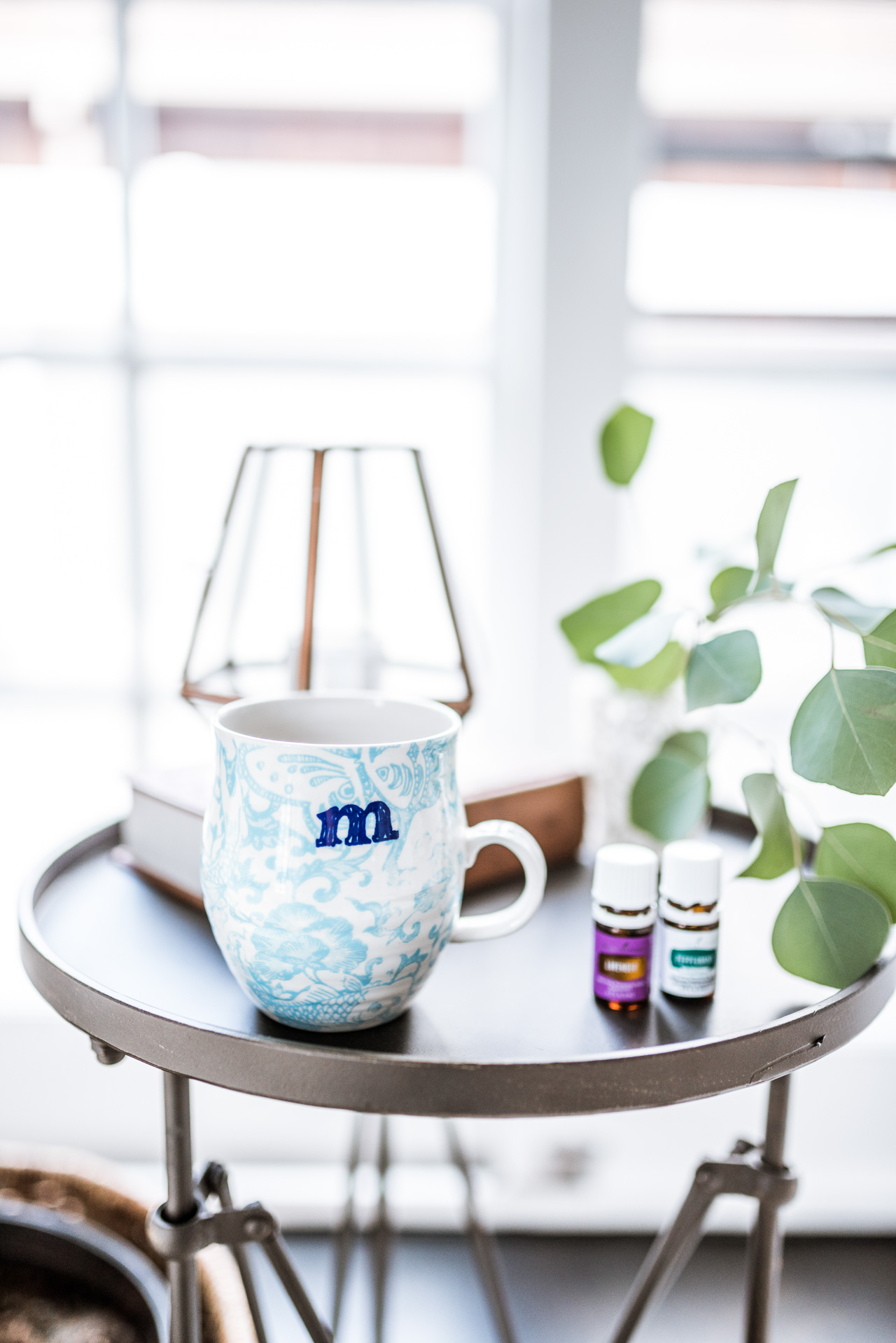 de-stressing with essential oils