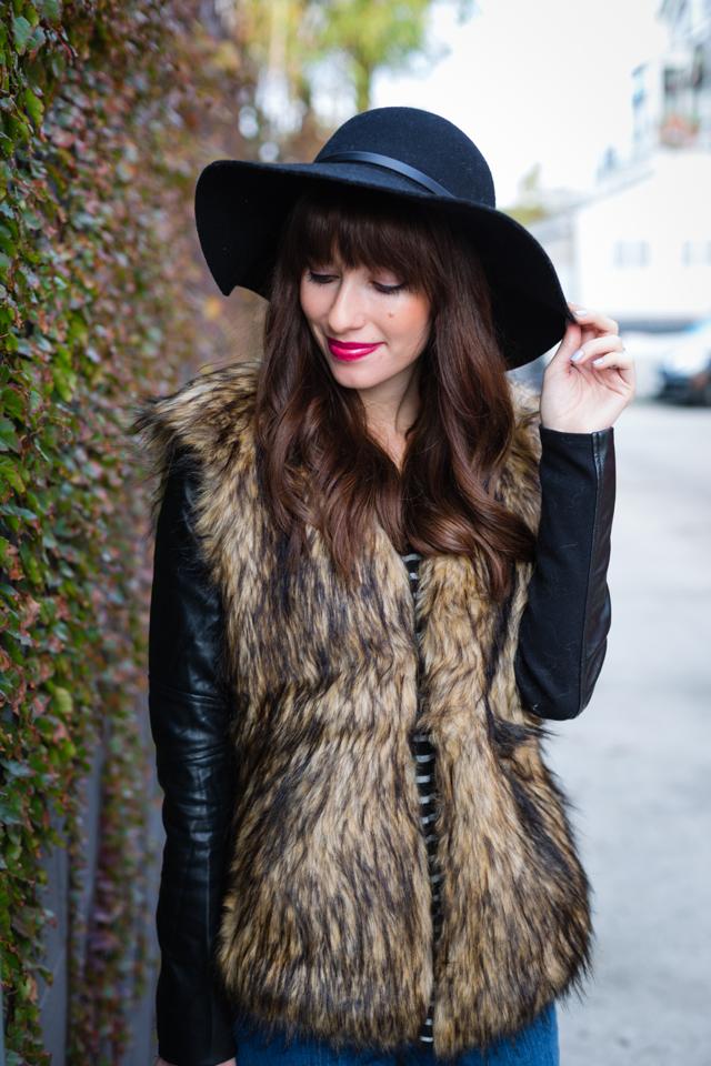 faux fur jacket M Loves @marmar