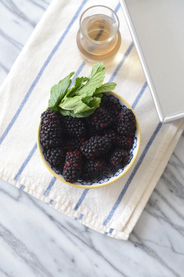 fresh blackberries and mint M Loves M @marmar