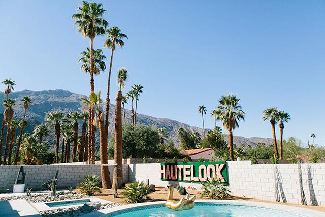 HauteLook Modernism Week Social House in Palm Springs M Loves M