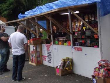 A fireworks stand in unincorporated Snohomish County.