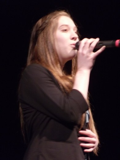 One of last year's Terrace Idol finalists, Abby Martinez of Lynnwood High School, will return for this year's competition.