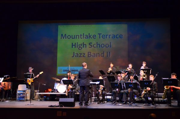 Mountlake Terrace High School's Jazz Band II.