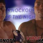 Kanott vs Knight KO of the night