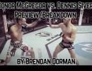 McGregor vs Siver UFC Boston.