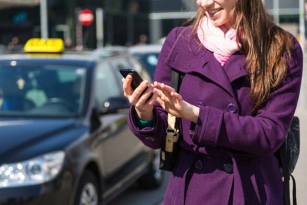 NFC nos transportes públicos.