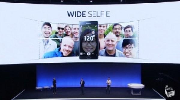 Note 4 wide selfie