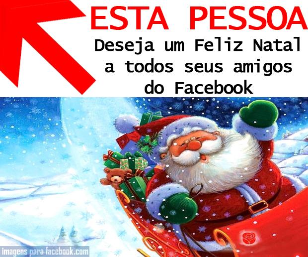 Só é Natal quando o Facebook o disser...