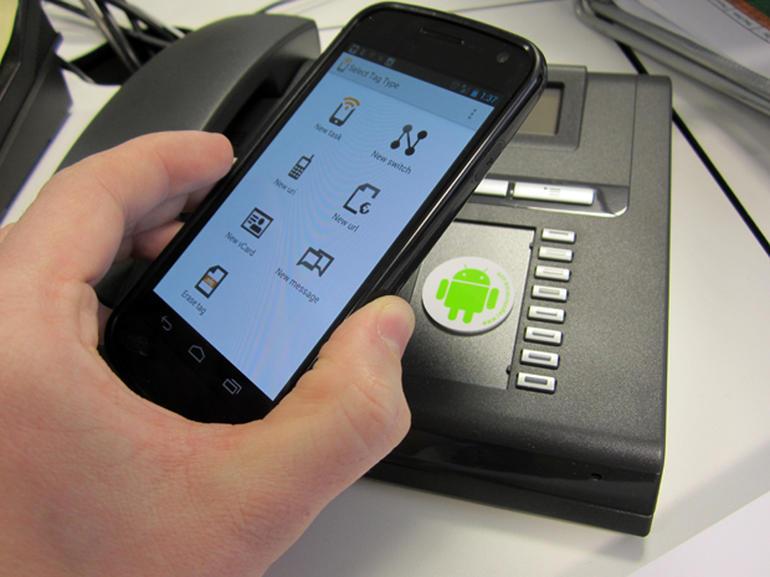 Recebi um smartphone com NFC. E agora?