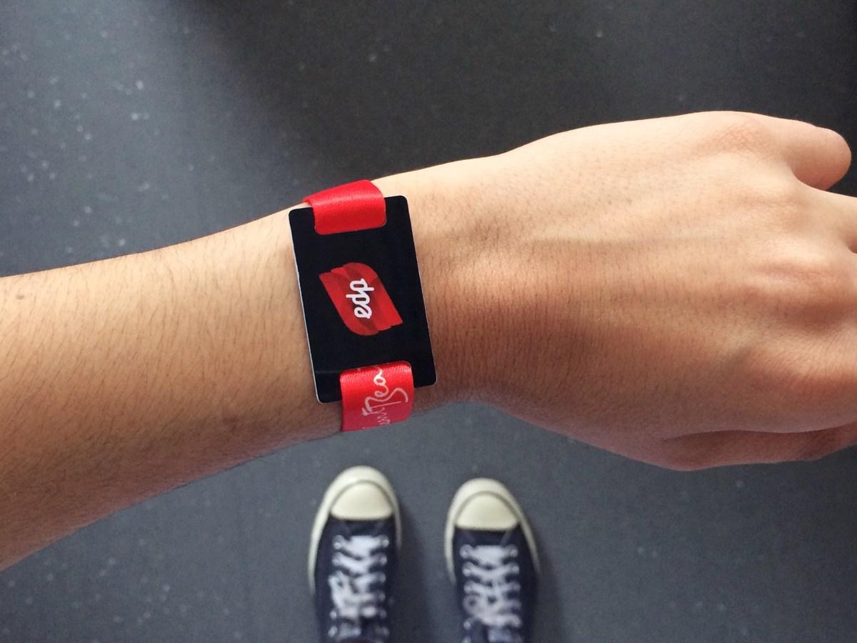 Pulseiras NFC - O Futuro dos Eventos
