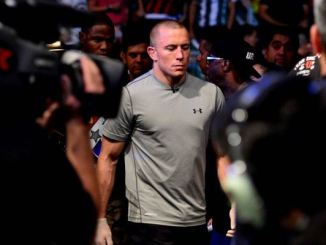 George St. Pierre (photo by Jason Silva © USA Today Sports)