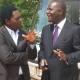 Hakainde Hichilema and Felix Mutati