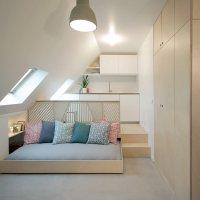 Tiny Attic Apartment in Paris