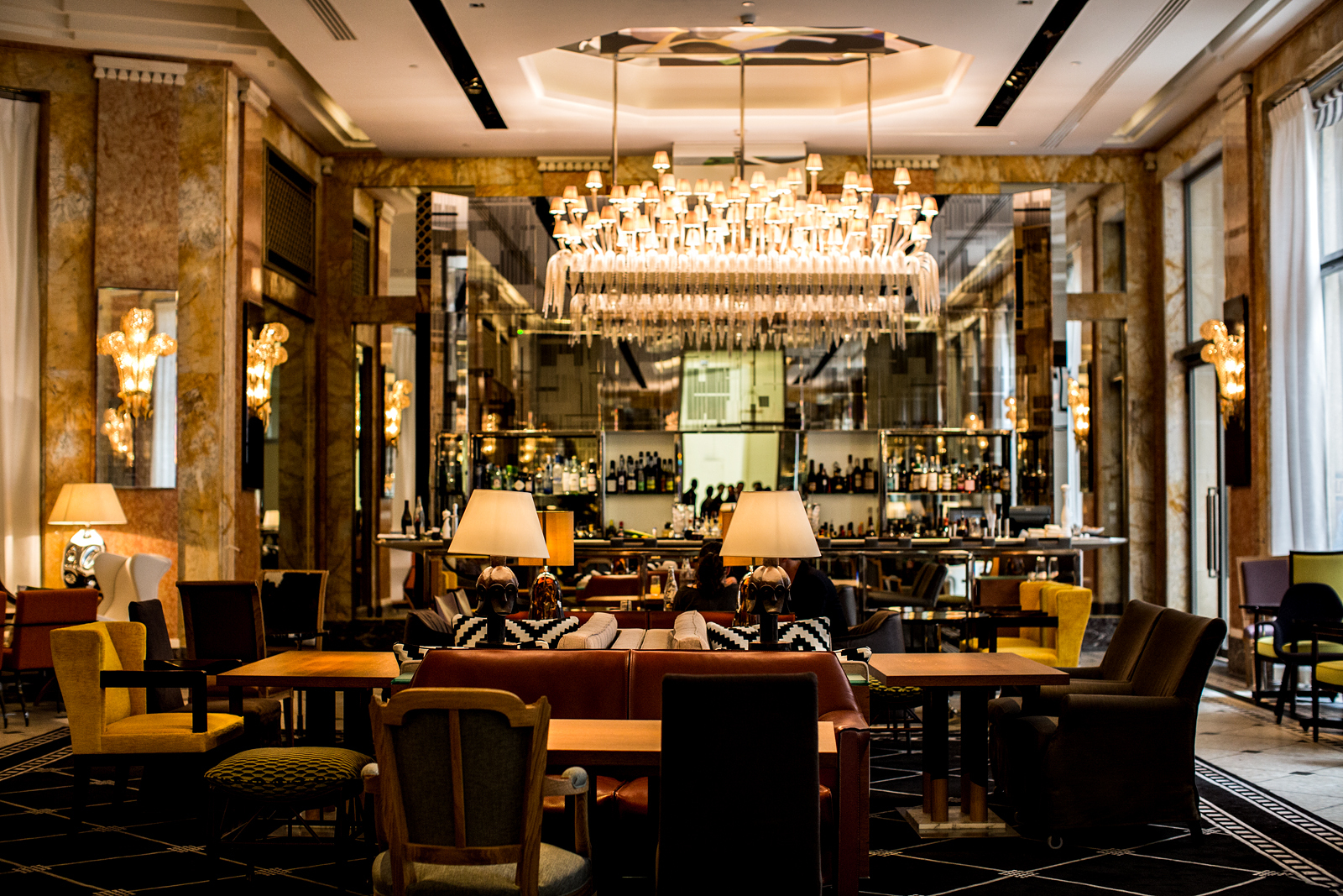 Particular Starwood Hotels Resorts Reopens An Art Deco Prince De Aluxury Collection Paris Following A Two Year Restoration Businesswire Starwood Hotels Resorts Reopens An Art Deco Prince De Galles houzz-03 Art Deco Bar