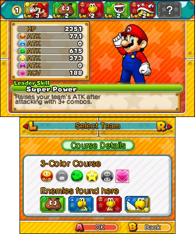 Download the free demo version of Puzzle & Dragons Super Mario Bros. Edition before the full game la ...