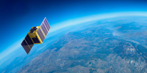 Artist's rendering of Hera Systems' commercial one-meter resolution imaging satellite. (Photo: Busin ...
