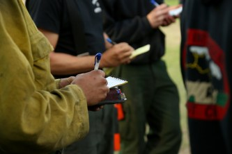 green-valley-fire-2013-morning briefing-taking notes