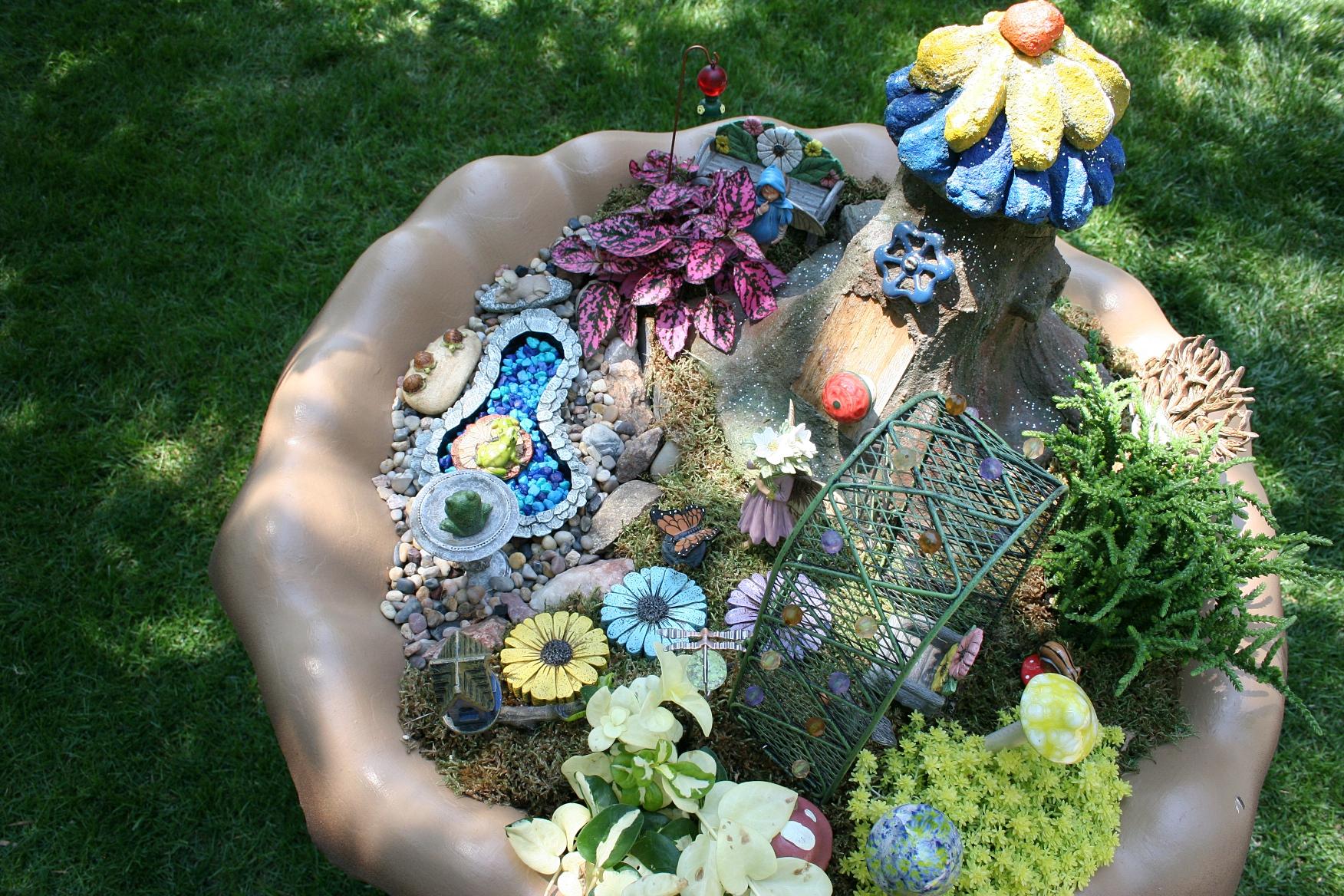 Fashionable Looking Down Into A Fairy Fairy Garden Minnesota Prairie Roots Fairy Garden Unicorn Garden My Fairy Garden Fairy Garden Nz garden Garden Fairy Garden