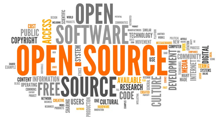 Word Cloud with Open Source related tags