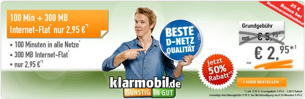 2015-12-28 21_02_47-Klarmobil Smart Flat 300 im Telekom-Netz für 2,95 € mtl. SIM only