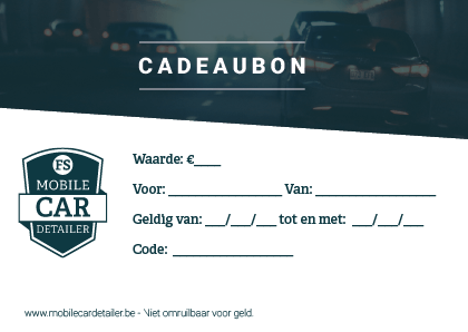 cadeaubon Mobile Car Detailer