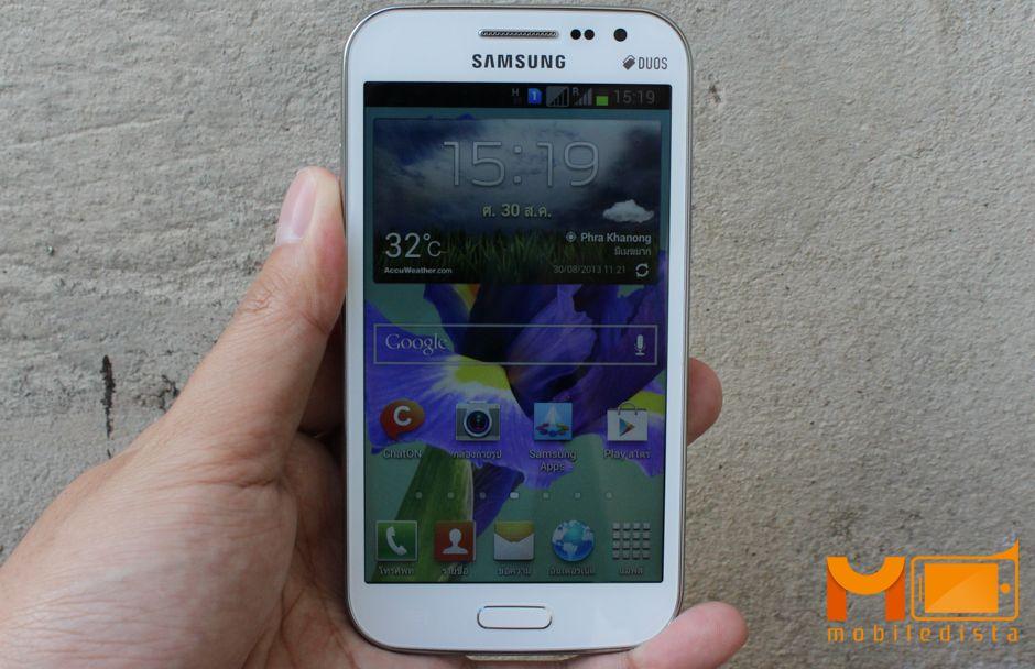 [รีวิว] Samsung Galaxy Win DUOS จอ 4.7 นิ้ว รองรับ 2 ซิม ในราคา 8,900 บาท