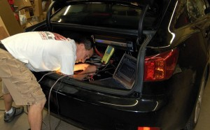Tuning the Lexus IS250 audio system