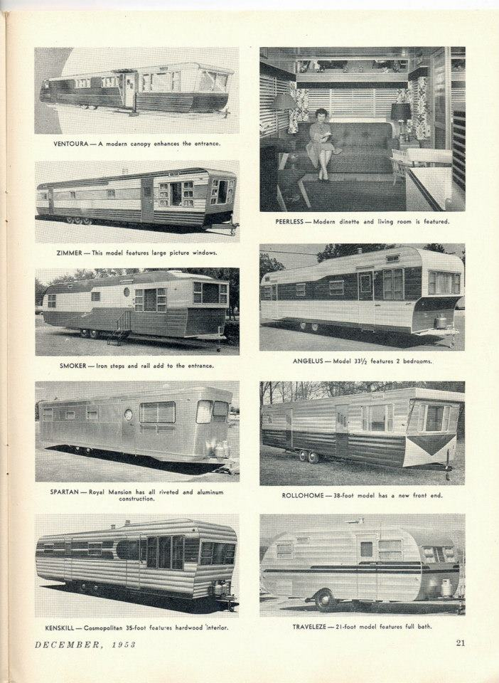 Vintage Mobile Homes Throwback Thursday
