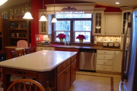 manufactured home kitchen ideas 588x400