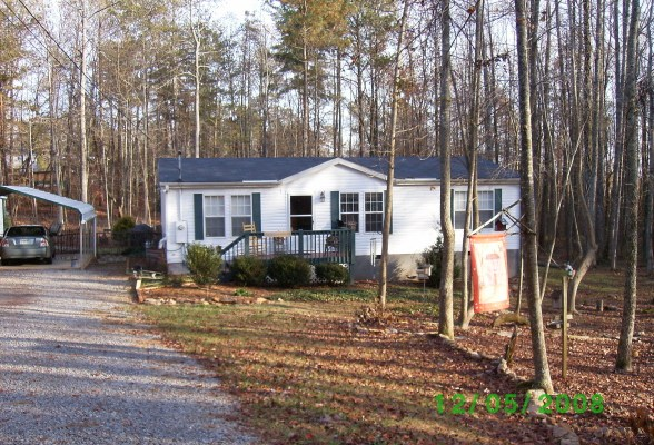 Country Style Double Wide Mobile And Manufactured Home