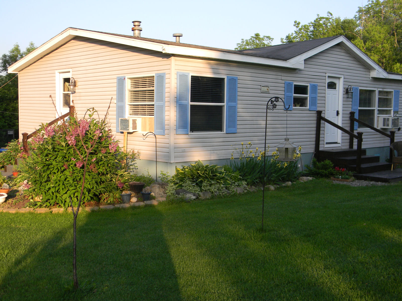 landscaping ideas mobile homes
