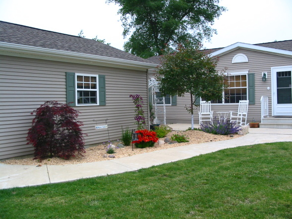 landscaping for a manufactured home