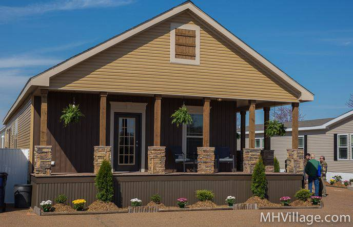 Mobile and manufactured home living the best mobile home for Single wide floor plans with porch