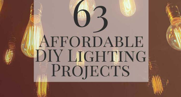 63 affordable diy lighting projects cheap diy lighting