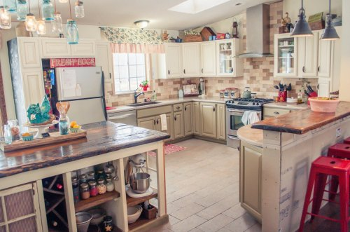 Medium Of Country Home Kitchen Decor
