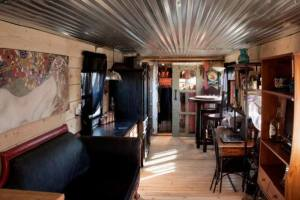 Shabby-Chic Spartan - Vintage Single Wide Mobile Home - Affordable Interior remodel