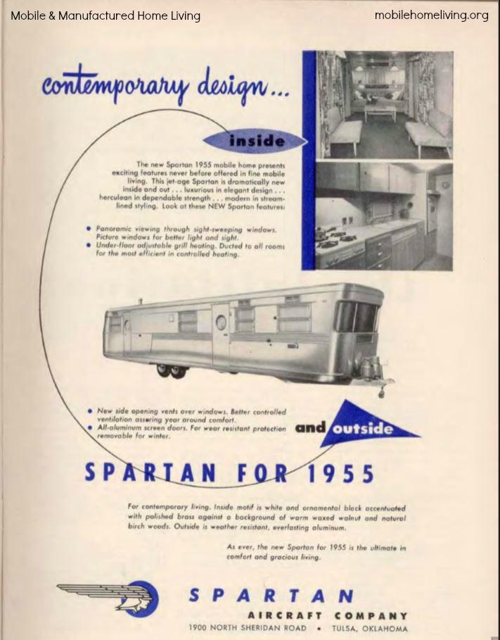 Spartan ad 1955